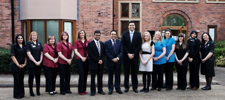 The team at University Dental and Implant Centre